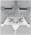 hvězda - SHERIFF