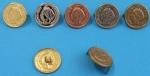 knoflík francouzská mince