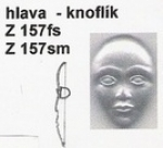 knoflík - hlava