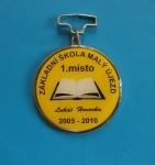 medaile - ZŠ Malý Újezd