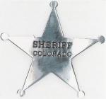 velká hvězda - SHERIFF COLORADO
